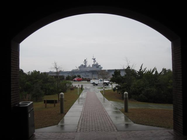 (<I></I>), Fort Macon State Park, North Carolina, United States